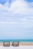 Παραλία δύο Στοκ Φωτογραφίες