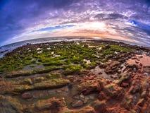 παραλία δύσκολη Στοκ εικόνες με δικαίωμα ελεύθερης χρήσης