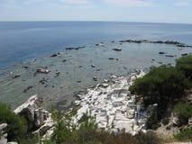 Παραλία Alyki Στοκ εικόνα με δικαίωμα ελεύθερης χρήσης