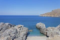 Παραλία Ammoudi, νότια Κρήτη Στοκ Φωτογραφίες