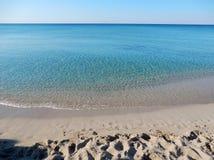 Παραλία Angeli degli Riva Στοκ Εικόνες