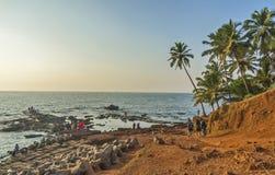 Παραλία Anjuna Στοκ εικόνα με δικαίωμα ελεύθερης χρήσης
