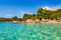 Παραλία Anse Λάτσιο - Σεϋχέλλες Στοκ Εικόνα