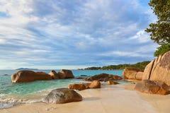 Παραλία Anse Λάτσιο - Σεϋχέλλες Στοκ φωτογραφία με δικαίωμα ελεύθερης χρήσης