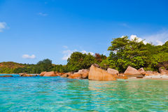 Παραλία Anse Λάτσιο - Σεϋχέλλες Στοκ φωτογραφίες με δικαίωμα ελεύθερης χρήσης