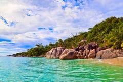 Παραλία Anse Λάτσιο στις Σεϋχέλλες Στοκ φωτογραφίες με δικαίωμα ελεύθερης χρήσης