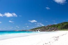 Παραλία Anse Λάτσιο Στοκ εικόνα με δικαίωμα ελεύθερης χρήσης