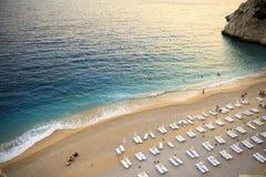Παραλία Antalya Kaputas Στοκ Φωτογραφίες