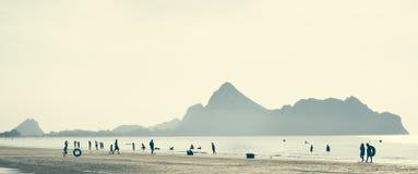 Παραλία AO-Manao Στοκ εικόνα με δικαίωμα ελεύθερης χρήσης