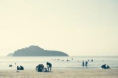 Παραλία AO-Manao Στοκ φωτογραφία με δικαίωμα ελεύθερης χρήσης