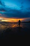 Παραλία AO Nang Στοκ Φωτογραφία