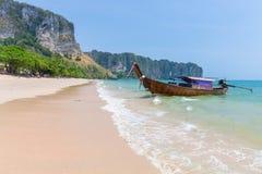 Παραλία AO Nang, Krabi, Ταϊλάνδη Στοκ Φωτογραφία