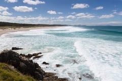 Παραλία Arai Te Στοκ φωτογραφίες με δικαίωμα ελεύθερης χρήσης