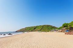 Παραλία Arambol, Goa Στοκ Εικόνες