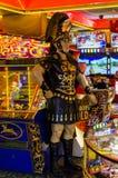 Παραλία Arcade με το ρωμαϊκό στρατιώτη Στοκ φωτογραφίες με δικαίωμα ελεύθερης χρήσης