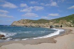 Παραλία Argentiera Στοκ φωτογραφία με δικαίωμα ελεύθερης χρήσης