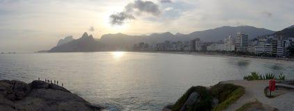 Παραλία Arpoador, Ρίο ντε Τζανέιρο, Βραζιλία Στοκ φωτογραφία με δικαίωμα ελεύθερης χρήσης
