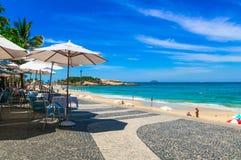 Παραλία Arpoador στο Ρίο ντε Τζανέιρο Στοκ εικόνα με δικαίωμα ελεύθερης χρήσης