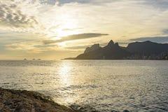 Παραλία Arpoador στο Ρίο ντε Τζανέιρο, Στοκ φωτογραφία με δικαίωμα ελεύθερης χρήσης