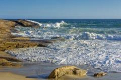 Παραλία Arpoador στο Ρίο ντε Τζανέιρο Στοκ φωτογραφία με δικαίωμα ελεύθερης χρήσης