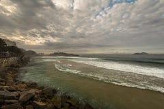 Παραλία Arpoador Στοκ φωτογραφία με δικαίωμα ελεύθερης χρήσης