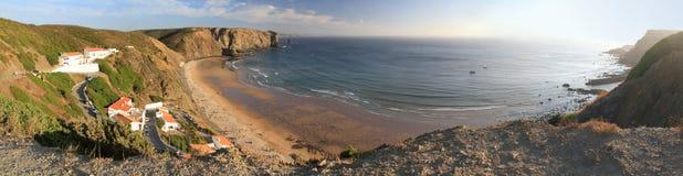 Παραλία Arrifana Στοκ φωτογραφία με δικαίωμα ελεύθερης χρήσης