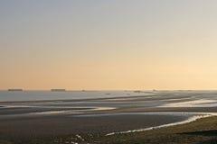 Παραλία Arromanches, Γαλλία Στοκ Εικόνα