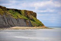 Παραλία Arromanches στη Γαλλία Στοκ φωτογραφία με δικαίωμα ελεύθερης χρήσης
