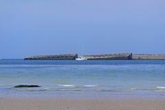 Παραλία Arromanches Στοκ φωτογραφία με δικαίωμα ελεύθερης χρήσης
