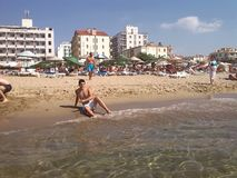 Παραλία Ayvalik Στοκ Φωτογραφίες