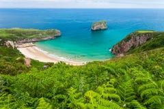 Παραλία Ballota στοκ φωτογραφία