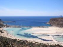 Παραλία Balos Στοκ Εικόνες
