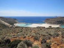 Παραλία Balos Στοκ Φωτογραφίες