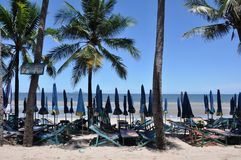 Παραλία Bangsaen Στοκ φωτογραφία με δικαίωμα ελεύθερης χρήσης