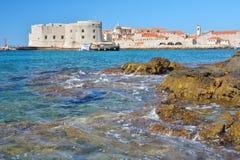 Παραλία Banje - Dubrovnik Κροατία Στοκ Εικόνα
