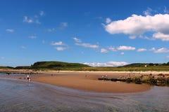 Παραλία Blackwaterfoot, κόλπος Drumadoon, Arran Στοκ φωτογραφίες με δικαίωμα ελεύθερης χρήσης