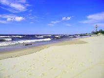 Παραλία Bolderaja Στοκ φωτογραφία με δικαίωμα ελεύθερης χρήσης