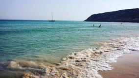 Παραλία Bolonia Στοκ εικόνες με δικαίωμα ελεύθερης χρήσης