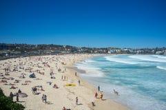 Παραλία Bondi, Σίδνεϊ, Αυστραλία Στοκ εικόνα με δικαίωμα ελεύθερης χρήσης