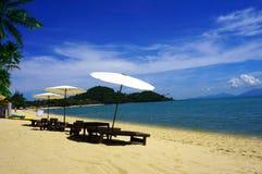 Παραλία Bophut στοκ εικόνα