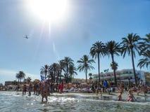 Παραλία bossa κρησφύγετων Playa Στοκ φωτογραφίες με δικαίωμα ελεύθερης χρήσης