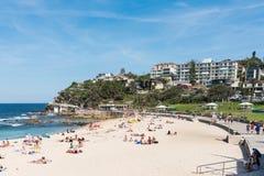 Παραλία Bronte στο Σύδνεϋ, Αυστραλία στοκ εικόνες