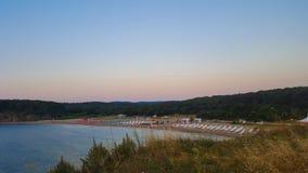 Παραλία Butamyata, Sinemorets, Βουλγαρία Στοκ Φωτογραφία