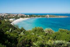 Παραλία Calasetta Στοκ Εικόνα