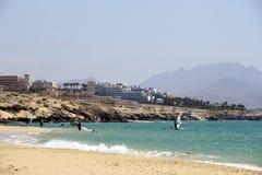 Παραλία Calma πλευρών - Fuerteventura Στοκ Εικόνα