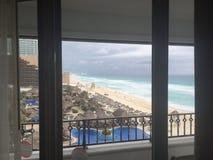 Παραλία Cancun Στοκ Εικόνα