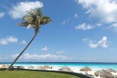 Παραλία Cancun Στοκ φωτογραφία με δικαίωμα ελεύθερης χρήσης
