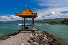 Παραλία Candidasa - νησί Ινδονησία του Μπαλί Στοκ φωτογραφίες με δικαίωμα ελεύθερης χρήσης