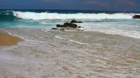 Παραλία Canot Boucan συγκέντρωση απόθεμα βίντεο