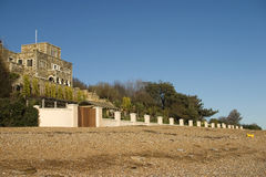 Παραλία Castle Winchelsea Στοκ Εικόνες